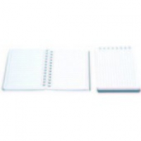 Agenda-mini cu spira, nedatata 120x80 mm, liniatura dictando